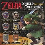 ゼルダの伝説 シールドピンバッジコレクション 全6種セット ガチャガチャ