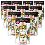 レノア ハピネス 香り付け専用ビーズ アロマジュエル アプリコット&ホワイトフローラルブーケの香り 詰め替え 455mLx10袋