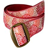 Bison Designs Women's Manzo Belt with Anodized Aluminum Buckle