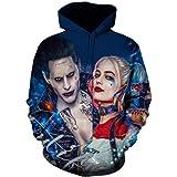 WDZNC MX Novelty Unisex 3D Print Hoodie Pullover Pockets Hoodie Costume Sweatshirt