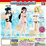 Gasha Portraits03【ガシャポートレイツ】ラブライブ!サンシャイン!!☆全3種セット★ 【Guilty Kiss】【ギルティキス】