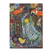 商標Fineアートali12870-c1419ggキャンバスアート 14x19 ALI12051-C1419GG