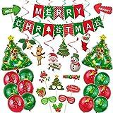 グアスリー(GuassLee) クリスマス飾り付けセット ガーランド パーティー デコレーション