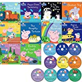 CD10枚付「ペッパピッグCD付き英語絵本」10冊セット peppa pig book and cd collection 10 books cds
