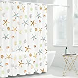FYY Shower Curtain Liner, 72 x 72 Inch Heavy Duty Waterproof PEVA Shower Curtain Liners with Rust-Resistant Metal Grommets an