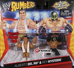 おもちゃ ALBERTO DEL RIO & REY MYSTERIO - WWE RUMBLERS TOY WRESTLING ACTION FIGURES [並行輸入品]