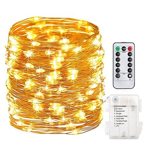 GDEALER イルミネーションライト led電池式 クリス...