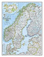 Scandinavia Classic (National Geographic Reference Map)