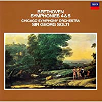 BEETHOVEN: SYMPHONIES NOS.4 & 5 by Sir Georg Solti (2007-02-21)