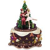 BestPysanky Ballerina Dancing with Nutcracker Spinning Musical Christmas Figurine