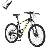 カノーバー(CANOVER) マウンテンバイク 自転車 21段変速 サスペンション ディスクブレーキ CAMT-042-DD ORION