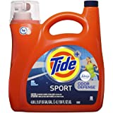 Tide Plus Febreze HE Liquid Laundry Detergent, Sport Active Fresh, 4.08L