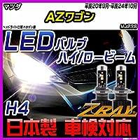 マツダ AZワゴン MJ23S 平成20年9月-平成24年10月 【LED ホワイトバルブ】 日本製 3年保証 車検対応 led LEDライト