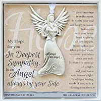 The Grandparent Gift Sympathy Angel Memorial Keepsake by The Grandparent Gift Co.