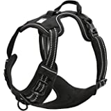 TRUE LOVE Adjustable No-Pull Dog Harness Reflective Pup Vest Harnesses Comfortable Control Brilliant Colors Truelove TLH5651(