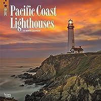 Pacific Coast Lighthouses 2018 Wall Calendar [並行輸入品]