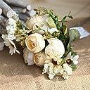 造花 花束 アーティフィシャルフラワー 本物みたい Zyurongプレゼントインテリア プレゼント 玄関 飾り お返し 結婚記念日 出産祝い