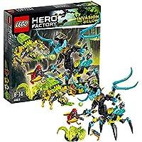 レゴ (LEGO) ヒーロー?ファクトリー クイーン?ビースト VS ファーノ & エヴォ & ストーマー 44029