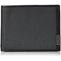 Tumi Men's Alpha Global Double Billfold Wallet With RFID Blocking, Reflective Silver, One Size