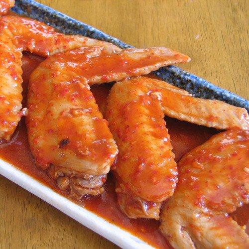 水郷のとりやさん 国産 鶏肉 手羽先ヤンニョムジャン 5本入 (タッカルビ)