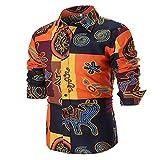メンズ ポロシャツ メンズ 長袖シャツ YOKINO 大きいサイズ ゆったり クルーネック 無地 素材で速乾性に優れた 長袖 ドライ ポロシャツ 花柄 ポロシャツ (XXXXL, ブラック 01)