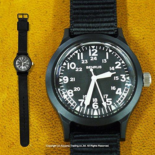 [ベンラス] BENRUS クオーツ メンズ 腕時計 BR763-BLACK [並行輸入品]