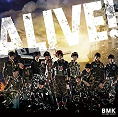 BOYS AND MEN 研究生「ALIVE!」のジャケット画像