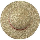 (デマ―クト)De.Markt コスプレ用 麦わら帽子 56-58CM ワンピース ONE PIECE ルフィ 衣装用 道具 リボン付