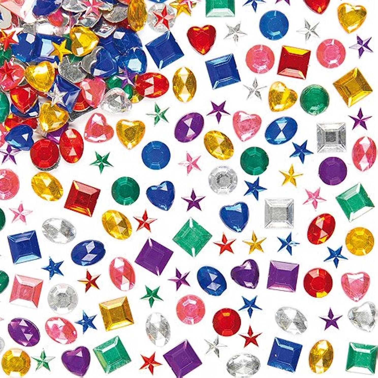アリショッキング準拠アクリルラインストーン バリューパック(1000個入り)母の日やバレンタインの手作りカードや工作に