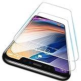 【Humixx】【2枚セット】iPhone11Pro/iPhoneX/Xs ガラスフィルム 5.8インチ 平面保護 SGS認証 抗菌コート加工・傷がつきにくいハードコート加工 2.5Dラウンドエッジ・気泡ゼロ・飛散防止・指紋防止・日本製10H・高透過