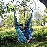 KORTELA ハンモックチェアー ロープチェア ハンギング ブランコ アウトドア  室内 花園 (150X130CM)