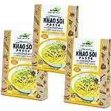 チブギス&ラムラム 有機JAS認定 カオソーイ ペースト 100g x 3個セット オーガニック グルテンフリー ヴィーガン タイ料理 CIVGIS & lumlum Organic Khao Soi Paste