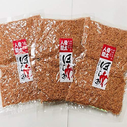 お得な【3袋セット】 無添加無着色三陸えび 干あみ 100g×3袋 いさだあみ ツノナシオキアミ