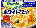 Rumic ホワイトクリームソース 2皿分×2袋