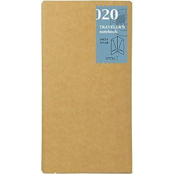 トラベラーズノート traveler's notebook リフィル クラフトファイル 020 14332006