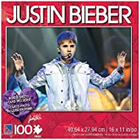 Justin Bieber 100 Piece Jigsaw Puzzle Justin in Concert