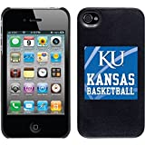 Coveroo ThinShield Snap-On Case for iPhone 4s/4 - Retail Packaging - University of Kansas Basketball Design [並行輸入品]