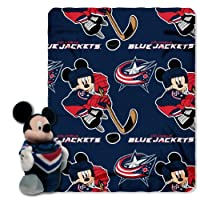 NHL Ice Warriors共同ブランドDisney 's Mickey Hugger and Fleece Throwセット