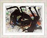 ジョアン・ミロ『無題A』リトグラフ・抽象画・【版画・絵画】【A613】