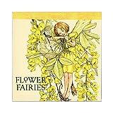 Flower Fairies フラワーフェアリーズ メモパッド・スクエア yellow_green
