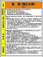 特定化学物質標識 815-17A 塩酸