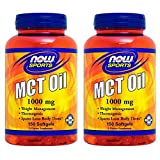 【2個セット】 MCTオイル(中鎖脂肪酸/中鎖トリグリセリド) 1000mg 150粒 [海外直送品]