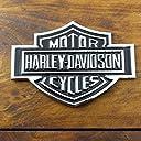 3Dステッカー 「ハーレーダビッドソン B S ロゴ」(クローム) /HARLEY-DAVIDSON/