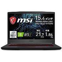 【NVIDIA最新RTX3060搭載・薄型軽量】MSIゲーミングノートPC GF65 1.86Kg i5 RTX3060…