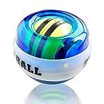 Raxnwell Gyroscopic Forearm Wrist Exerciser Ball Auto Start Gyro Strengthener Ball Wrist Ball Force Ball Wrist Trainer...