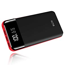 モバイルバッテリー 超大容量 25000mah 持ち運び急速充電器 2つUSB入力ポート 3つUSB出力ポート(1A+2.1A+2.1A) LCD残量表示 一週間の電量が満足できる 地震/災害/旅行/出張/緊急用などの必携品