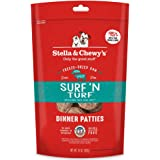 Stella & Chewy's Freeze Dried Surf & Turf (Beef & Salmon) Dinner Patties For Dogs