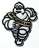 Michelinタイヤオートバイ車Racing NascarバイカーロゴパッチジャケットTシャツSew Iron onパッチバッジ刺繍