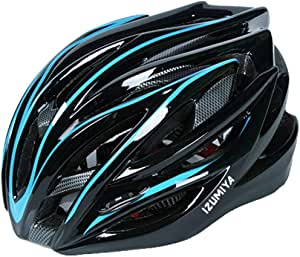 IZUMIYA 自転車 ヘルメット サイクリング 超軽量 高剛性 28孔 通気穴 ロードバイク クロスバイク サイズ調整可能