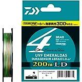 ダイワ(DAIWA) ライン UVF エメラルダス DURAセンサーX4 LD +Si2 200m 0.8号 (14lb)